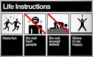 Instructions For Life