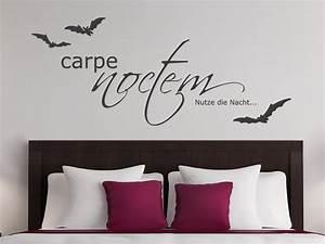 Wandtattoo Carpe Noctem : wandtattoo gruseliges carpe noctem bei ~ Sanjose-hotels-ca.com Haus und Dekorationen
