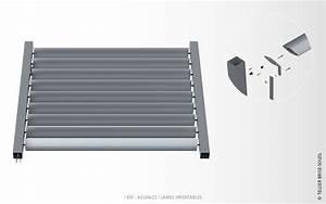 Brise Soleil Horizontal : as100x23 lames ailes d 39 avion brise soleil orientable ~ Melissatoandfro.com Idées de Décoration