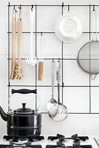 creer sa cuisine fonctionnelle avec ces astuces rangement With amenagement mural cuisine