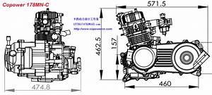 Zongshen 250cc Atv Engine Atv Engine 100cc 125cc Atv