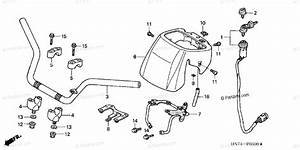 Honda Atv 2006 Oem Parts Diagram For Handlebar
