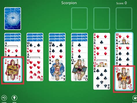 how to play solitaire how to play spider solitaire in windows 8 6 steps with pictures