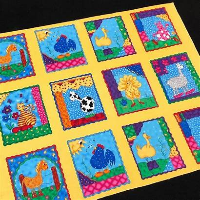 Quilt Funny Farm Kit Panel Quilts Animal