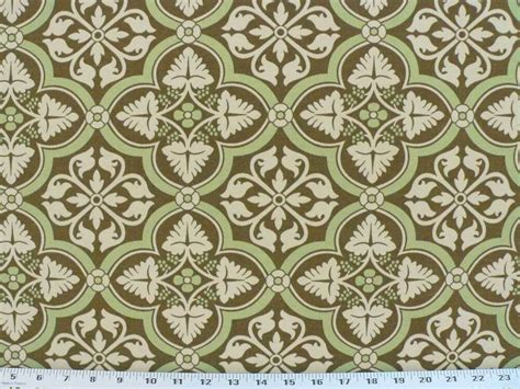 1950s Upholstery Fabric by Drapery Upholstery Fabric Indoor Outdoor Retro Medallion