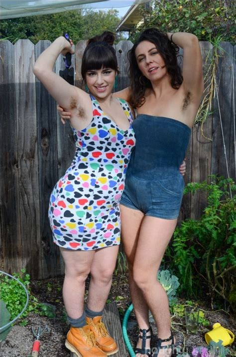 Felmcyber Hairy Armpits Simone Nikki Silver