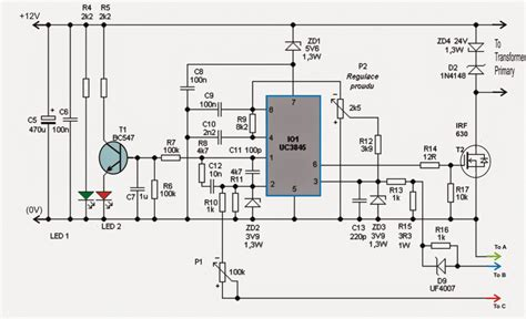 Adjustable Amp Smps Circuit Homemade
