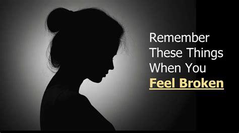 8 Self Care Tips For When You Feel Broken