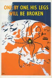 One By One : one by one his legs will be broken ministry of information poster 1941 propagandaposters ~ Medecine-chirurgie-esthetiques.com Avis de Voitures