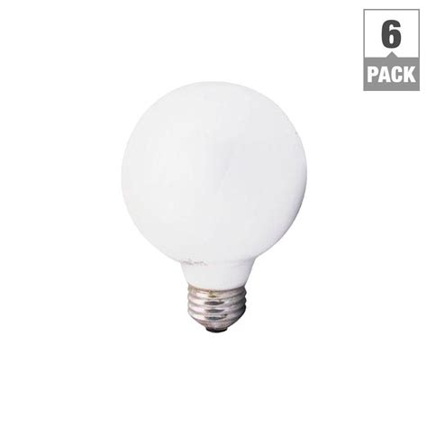 sylvania 40 watt incandescent g25 soft white globe light