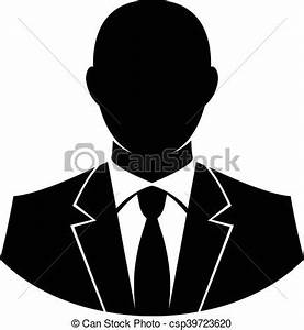 Formal Business Suit & Tie vector illustration - Search ...