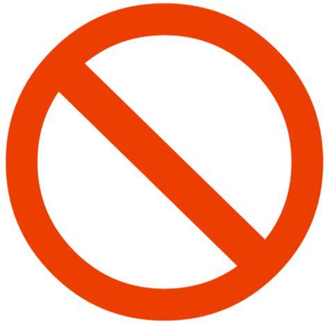No Symbol Circle Clip Art Red Circle Png Download 500