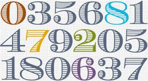 money number font things to try pinterest fonts