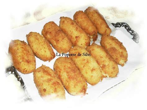 croquettes de pommes de terre la popotte de silvi