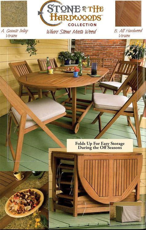 outdoor interiors  piece folding patio set patio table