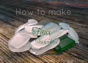 Intrepid, Moose, How, To, Make, Faux, Sea, Glass