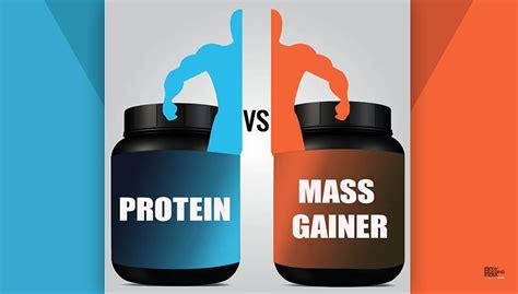 best protein mass gainer protein vs mass gainer bodybuilding india