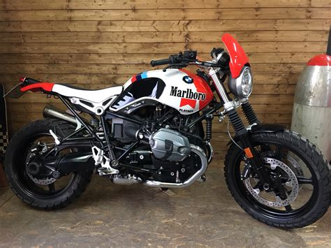 Modification Bmw R Nine T G S by Bmw R Ninet Scrambler Marlboro Luismoto