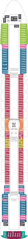 Pride Of America Deck 7 Deck Plan Tour