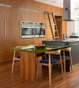 Kücheninsel Mit Tisch : beliebte k cheninsel designs renovieren sie ihren k chenbereich ~ Yasmunasinghe.com Haus und Dekorationen