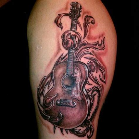 inspirational guitar tattoos nenuno creative