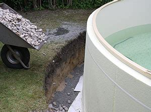 pool eingraben ohne beton conzero das poolsystem ohne beton paradies pool