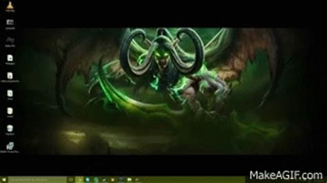 World Of Warcraft Legion Animated Wallpaper - animated illidan stormrage wallpaper world of warcraft