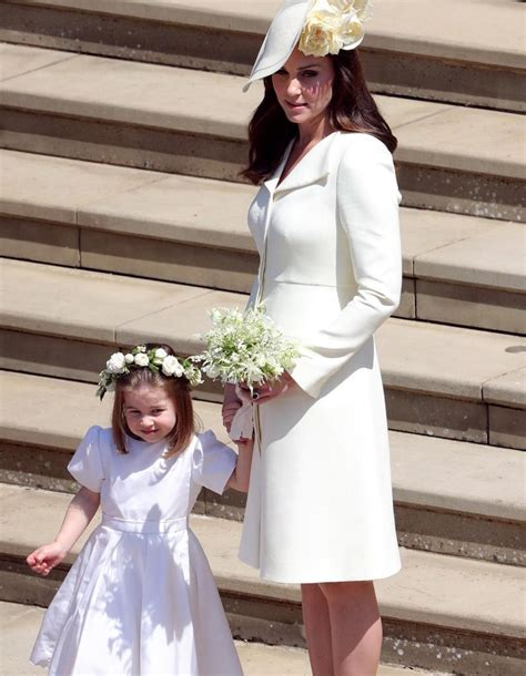 mariage harry et meghan robe kate photos kate middleton resplendissante au mariage du