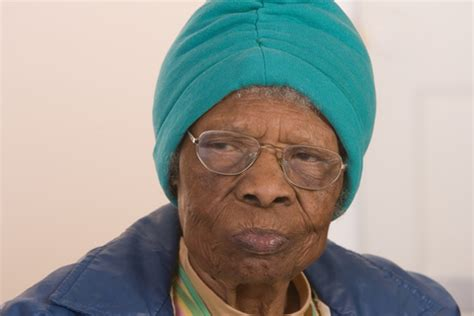 Old Black African American Womanhead Covered  One Writer