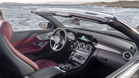 Designo diamond white bright, designo nappa leather. 2019 Mercedes-Benz C-Class Cabrio - Interior | HD Wallpaper #30
