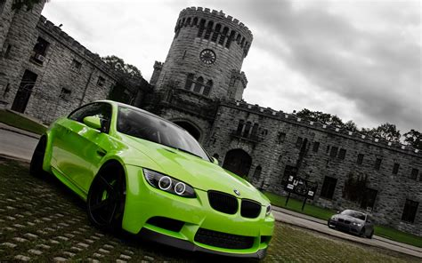 Green Bmw M3 Wallpaper