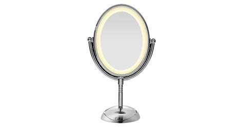reflections led lighted collection mirror conair led lighted collection mirror oval