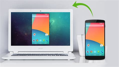 easy share android screen  pc  mac youtube