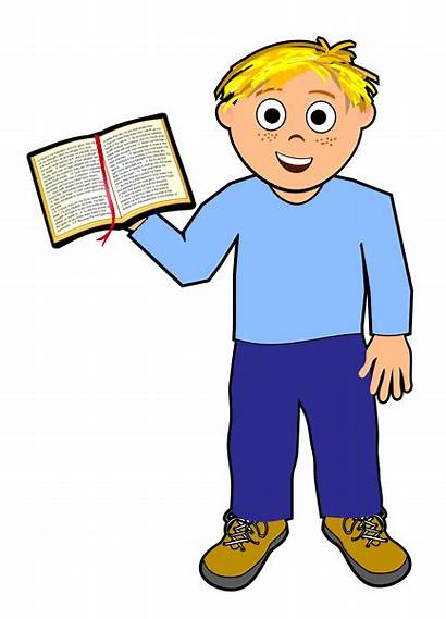 Clipart Boy Easy Boys Clip Christian Bible