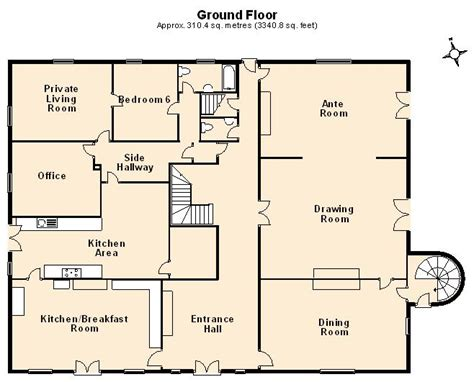 Sle House Design Floor Plan by Floor Plans Great Property Marketing Tools