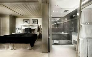 un chalet montagne moderne et luxueux dans les alpes With salle de bain design avec décoration soirée irlandaise