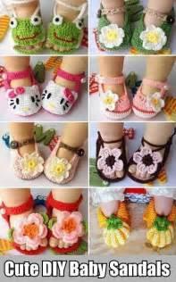 DIY Crochet Baby Sandal