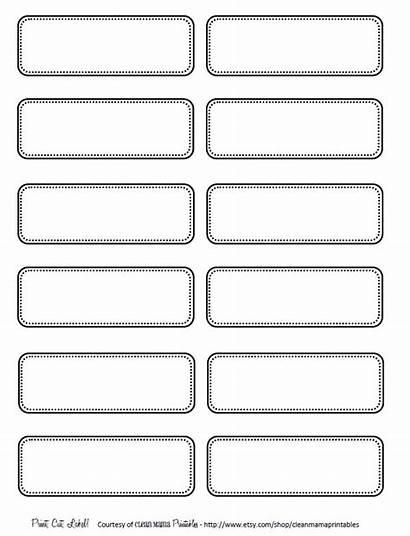 Labels Printable Simple Printables Label Blank Templates
