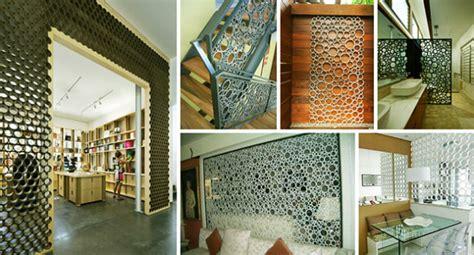 desain sekat ruang rumah unik tips gambar