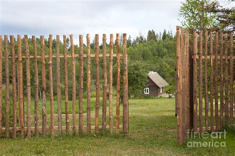 Old Style Wood Fence Photograph By Jaak Nilson