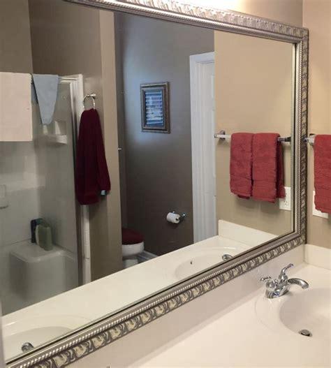 Framed Bathroom Mirrors Diy by 74 Best Mirrormate Diy Mirror Makeovers By Customers
