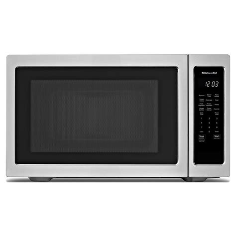 stainless steel countertop microwave kitchenaid 2 20 cu ft countertop microwave in stainless