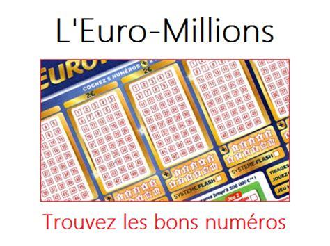Obtenir Les Numéros De L'euro Millions