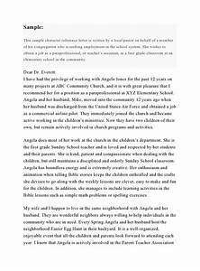 30, Character, Reference, Letter, Templates