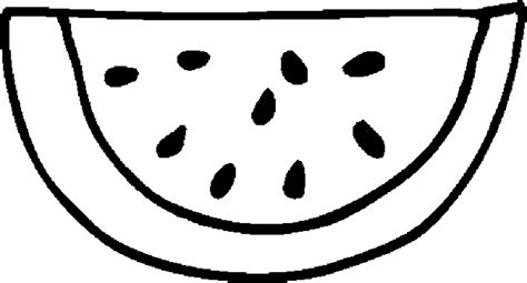 watermelon coloring pages getcoloringpagescom