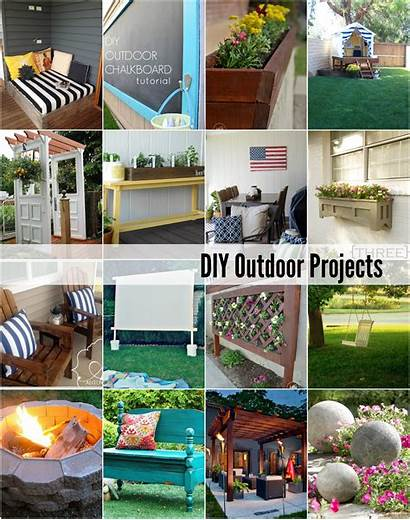 Diy Projects Outdoor Space Idea Recycled Easy