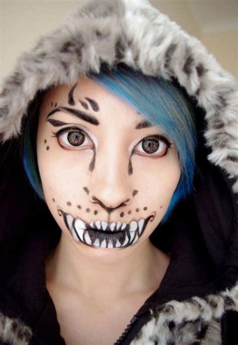 halloween cat face makeup ideas  girls women  modern fashion blog