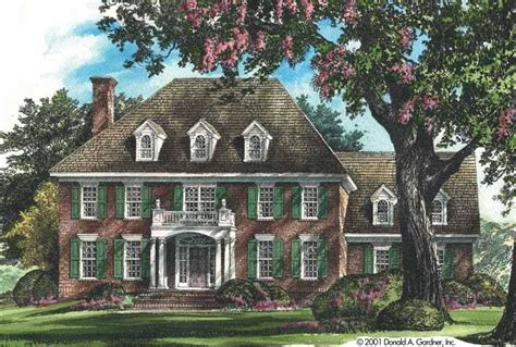 Federal House Plans by Eplans Adam Federal House Plan Traditional Estate Home