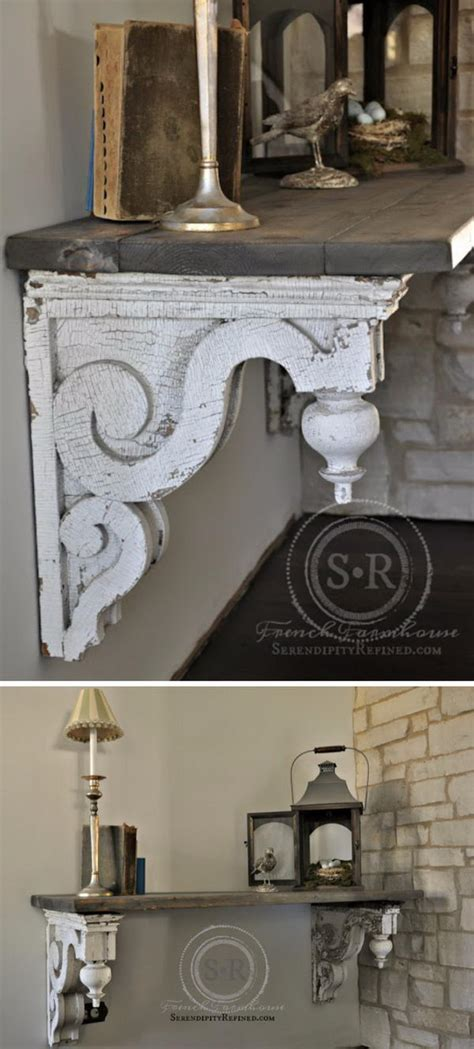 What Are Corbels Used For by 30 Cheap And Creative Diy Home Decor Projects Using