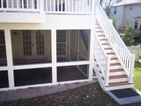 Screened Porch Under Deck
